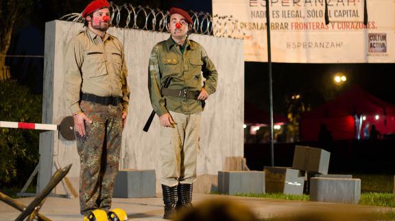 Checkpoint clown, Pallasos en Rebeldía