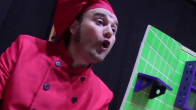 Cociñando música, Capitán Garfo